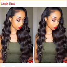 New Best Unprocessed Virgin Hair Lace Front Body Wave Wig Human Hair Brazilian Lace Front Wigs Glueless Lace Wig With Baby Hair
