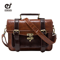 ecosusi 2016 New arrivel women briefcase fashion women crossbody bag retro women handbag functional women messenger bags