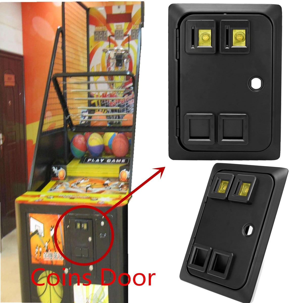 Wells Gardner Style Coin Door w// Pinball game two entry Coin Door Arcade