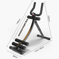 Portable Strength adjustable LED display, Waist Legs Arms exercise Breaststroke Abdomen Trainer, home muscle training equipment