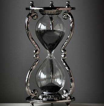 Metal Twelve Constellations 30 Minutes Hourglasses Timer Men's Girlfriend Best Gift Creative Home Decor Hourglass Timer LFB890 недорого