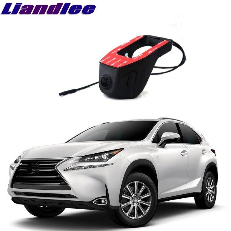 Liandlee Pour Lexus NX AZ10 2014 ~ 2017 Voiture Boîte Noire WiFi DVR Dash Caméra Conduite Enregistreur Vidéo