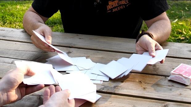Alpha Pont (Cartes et Instructions En Ligne), Carte Des Tours de Magie, illusions, Mentalisme, Close up, Gimmick, Magia Jouets