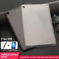 SZOXBY Per Huawei M5 Caso Pro Tablet PC Da 10.8 Pollici SHT-AL09/W09 Morbido Borsette Antiurto Lavabile TPU Del Manicotto Del Bambino di protezione
