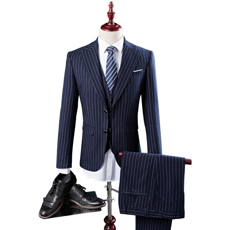 2017 noi patru anotimpuri stil barbati costume de tip boutique de - Imbracaminte barbati