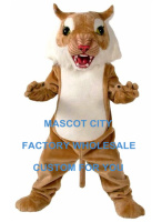 Big Cat Wildcat Mascot Costume Wild Animals Character Mascotte Mascota Outfit Suit Party Fancy Dress Cosply Costume SW607