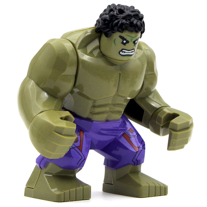 Single Sale Big Hulk Super Hero  DC& Gift Buliding Block collection toys Best Children Gift