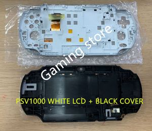 Image 2 - original new for psvita for ps vita psv 1000 lcd screen white + black back cover 3G or WIFI with free screen protector