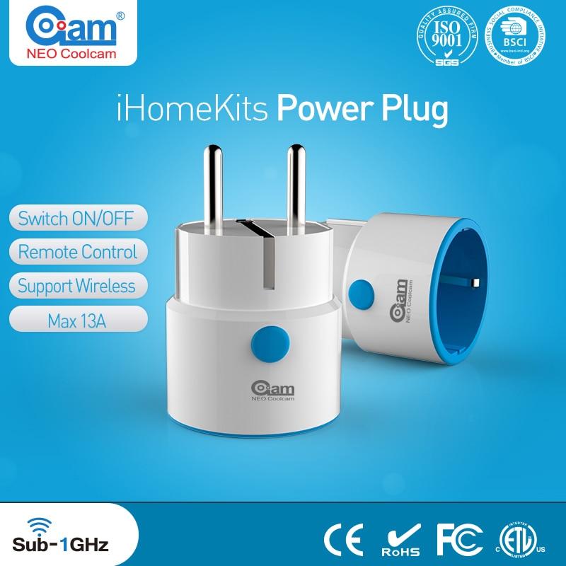 NEO COOLCAM Z WAVE Plus Wireless EU Smart Power Plug Socket Home Automation Alarm System Home