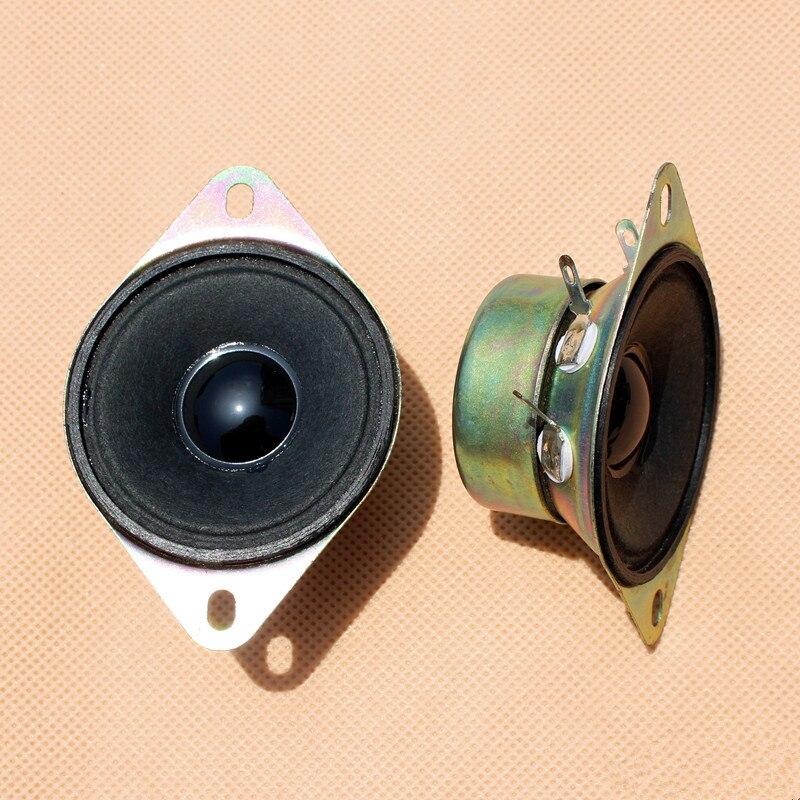 2 stücke 2-zoll 8 ohm 10 Watt lautsprecher hochtöner innerhalb der magnetische louderspeaker auto audioschrank Spalte 52 MM trompete hohe audio sound