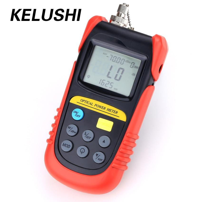 KELUSHI FTTH Fiber Optic Power Meter Tragbare Verstellbare TBM-70A-70 bis + 6dBm (Verwenden FC/SC/ ST Stecker) netzwerk Kabel Test Werkzeug