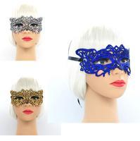 (100 шт./лот) Новый Ретро цвет кружева маска сексуальные женские вечере маски