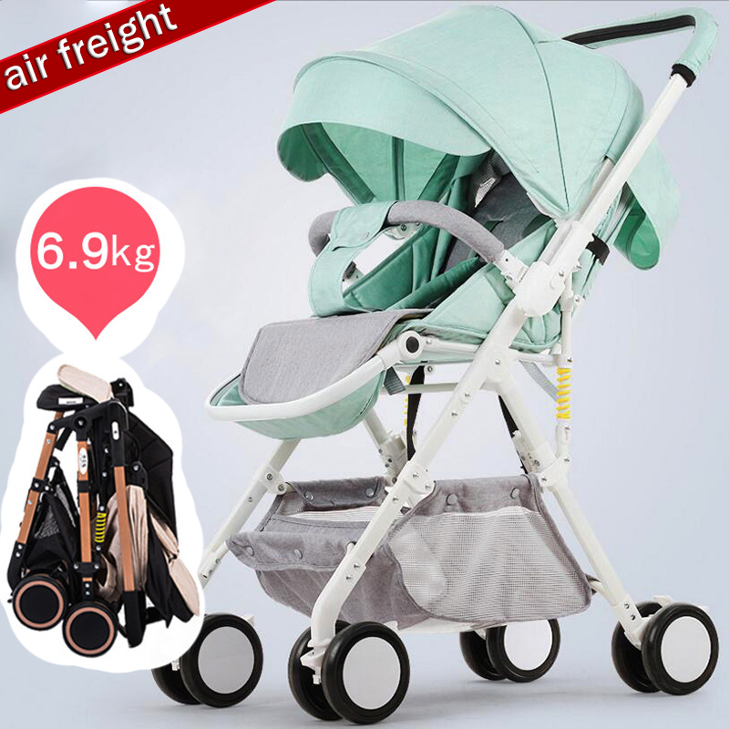 China cheap Lightweight Baby Stroller 6.9KG Folding light can sit and lie Carriage Buggy Pushchair Pram Newborn Infant CarChina cheap Lightweight Baby Stroller 6.9KG Folding light can sit and lie Carriage Buggy Pushchair Pram Newborn Infant Car