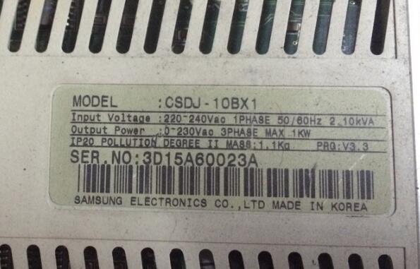 Servo driver CSDJ_10BX1  , Used one , 90% appearance new , 3 months warranty  , in stock Servo driver CSDJ_10BX1  , Used one , 90% appearance new , 3 months warranty  , in stock