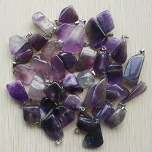 جديد مجوهرات 2018 حار بيع الحجر الطبيعي غير النظامية المعلقات لصنع المجوهرات 50 قطعة/الوحدة بالجملة شحن مجاني