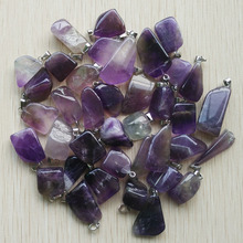 New jewelry 2018 hot selling Natural stone Irregular pendants for jewelry making  50pcs/lot  Wholesale free shipping