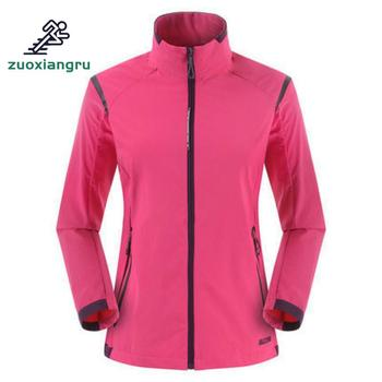 Spring Autumn Women Hiking Jacket Waterproof Military Windbreakers Skin Coats Camouflage Outdoor Sport Clothing