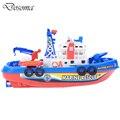 Линкор Летние Дети Toys Лодки Открытый Poorl Ванная Комната Электрический Ванна Лодка Детские Игрушки Дети Перевозки Toys Хорошие Подарки