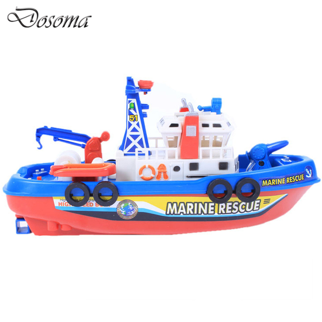 Battleship Summer Children Toys Boats Outdoor Poorl Bathroom Electric Bath Boat Toy Baby Kids Transportation Toys Good Gifts