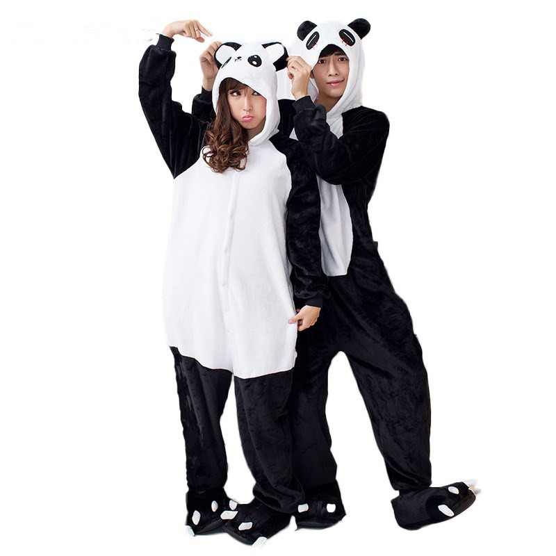 Anime Cosplay Panda Pijama Adult Unisex Homewear Cute Onesies For Adults Pajamas Halloween Women Pajama Kunfu Panda Pyjamas