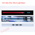 Hot Sale 66cm 1set Star Wars Lightsaber Led Flashing Light Sword Toys Cosplay Percussion Sabers For Boys Action Figure Free Ship