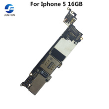 ジュン楽しいフル作業のためにロック解除iphone 5 16ギガバイトのマザーボードメインボードのロジックマザーボードメガバイトプレート