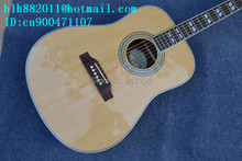 free shipping wholesale and retail music instrument new orange surface single acoustic guitar +foam box F-1990