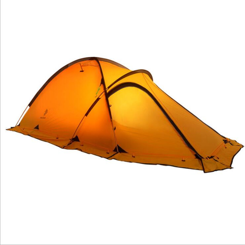New Arrival Ultralight Tent 2 person Outdoor Camping Tent Trekking Hiking Waterproof Tourist Tent Windproof Large Travel Tents outdoor double layer 10 14 persons camping holiday arbor tent sun canopy canopy tent