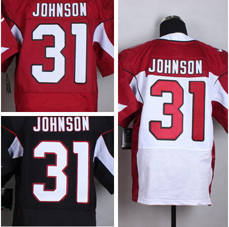 best service 90c62 77eb9 David Johnson Jersey Black White Red Best Quality 31 Johnson ...