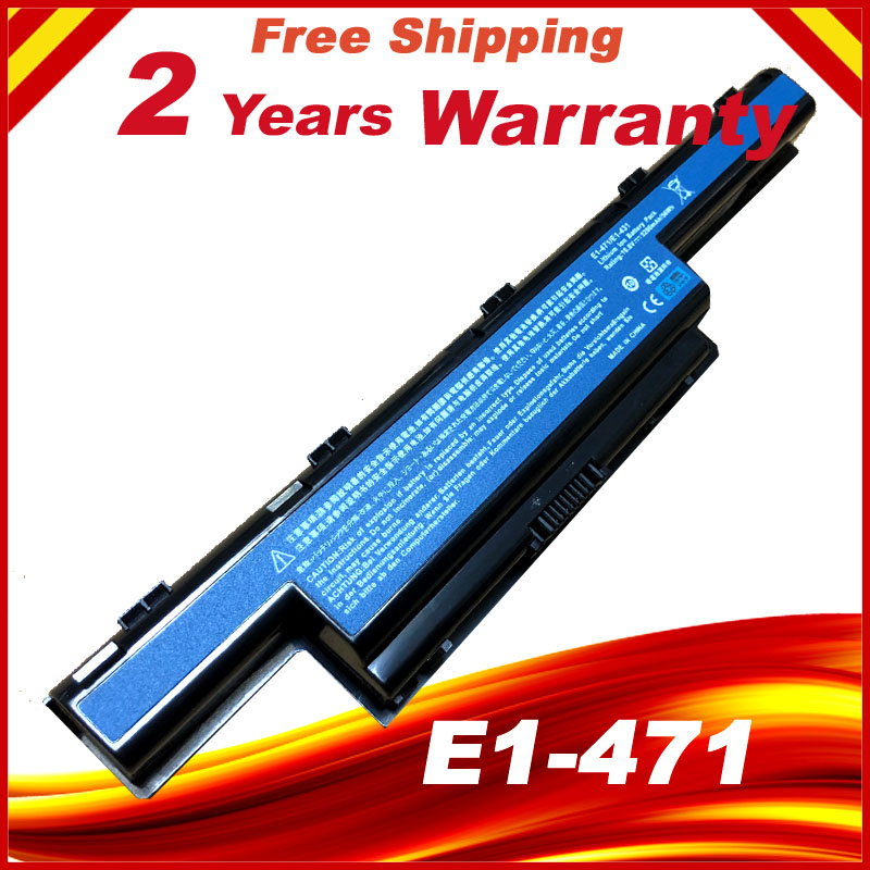 6 Cell Battery for Acer Aspire V3-571G 4551 V3 V3-471G V3-551G AS10D81 E1-471 E1-421 E1-431 E1-571 E1-531 4741G as10d31 6600mah laptop battery for acer aspire e1 e1 531g e1 571g v3 v3 471g v3 551g v3 571g v3 731 v3 771 v3 771g