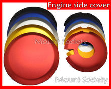 6 Colors Engine Ignition Clutch Case Cover Guard Set for Suzuki DRZ 400 S SM E DRZ-400 E/S/SM Kawasaki KLX400 All Year motorbike(China)