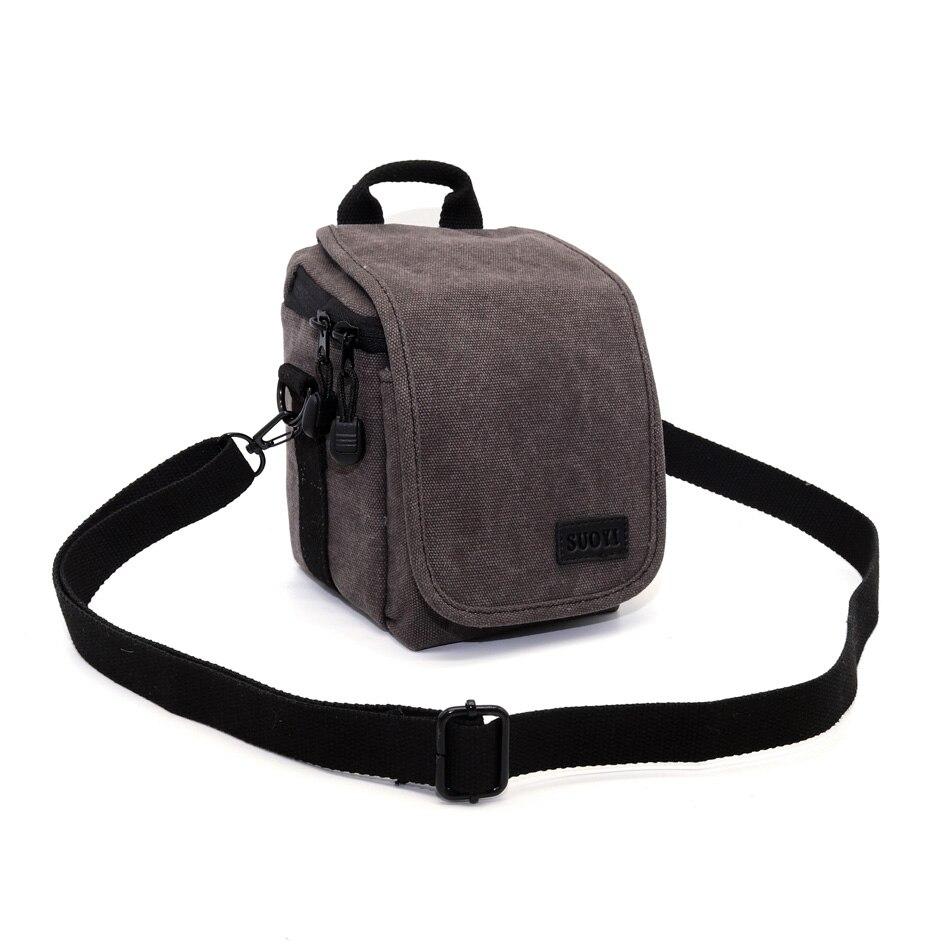 Холст Камера сумка на ремне для sony A6300 A6000 A5100 A5000 WX300 WX170 WX150 NEX3N NEX5C NEX5R NEX5N NEX5T камера сумка ...