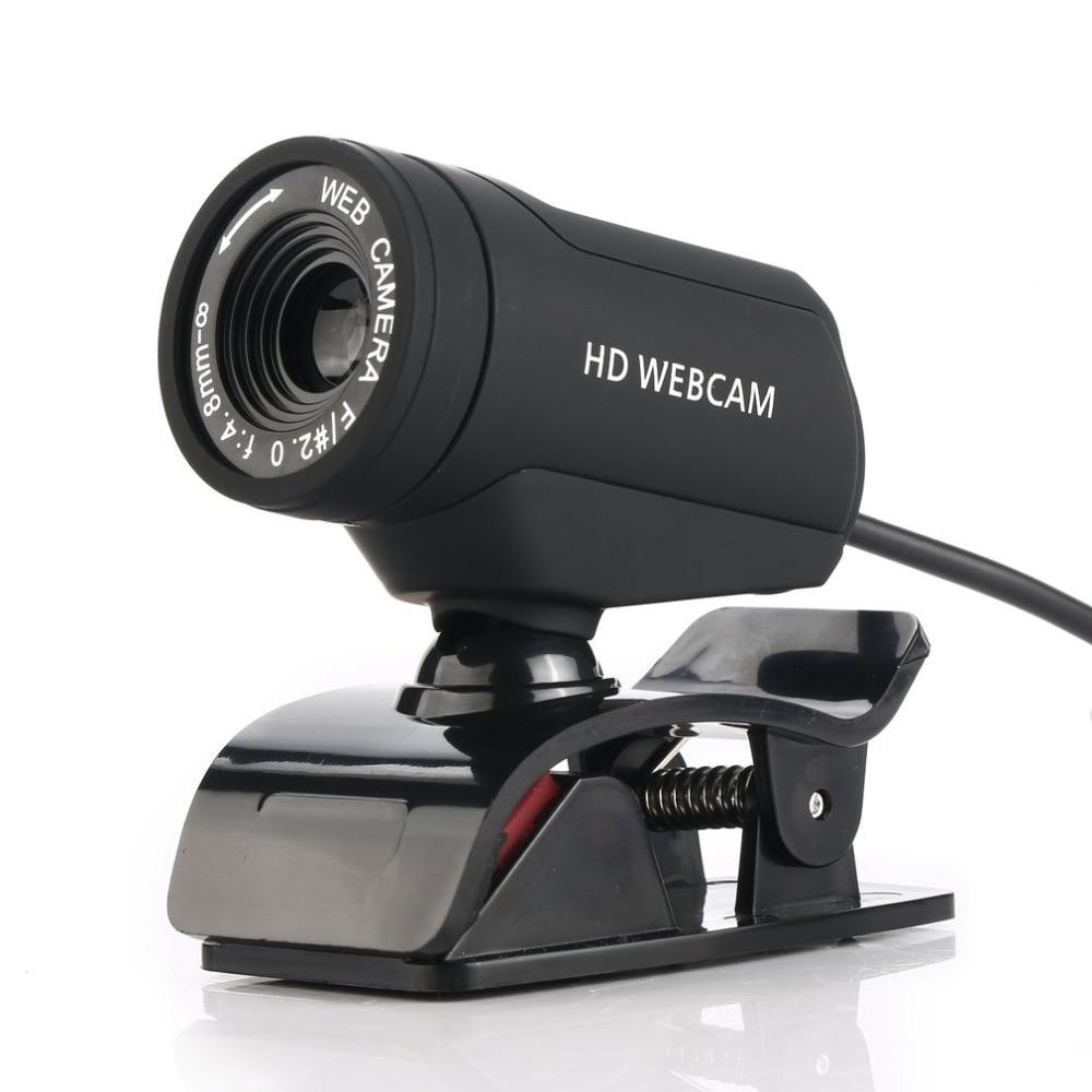 Webcam HD Computer Web-Camera Laptop Built-In-Microphone Video Desktop USB For PC Usb-Plug