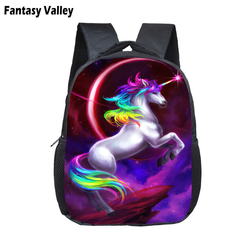 21c8a87223 Fantasy Unicorn Bag Kids Small School Bag Child Backpacks Boys Girls School Bags  Children Book Bag