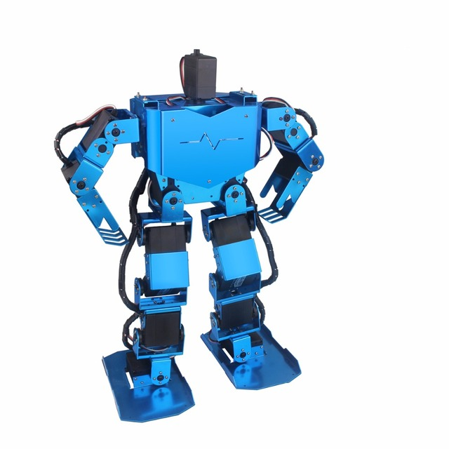 17 dof humanoid robot/ biped dance robot/ robot education platformt ...