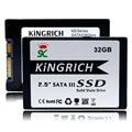 """KINGRICH 2.5 """"SATA II SSD de 32 GB de Disco de Estado Sólido de 8 GB 16 GB 2-Channel Para El Ordenador Portátil Notebook PC Discos Duros de ordenador"""