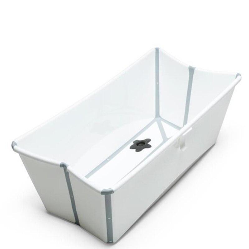 Qualité bébé douche Portable enfant baignoire en plastique lavage corps infantile baignoire antidérapant nouveau-né bain siège soutien enfant bain produit