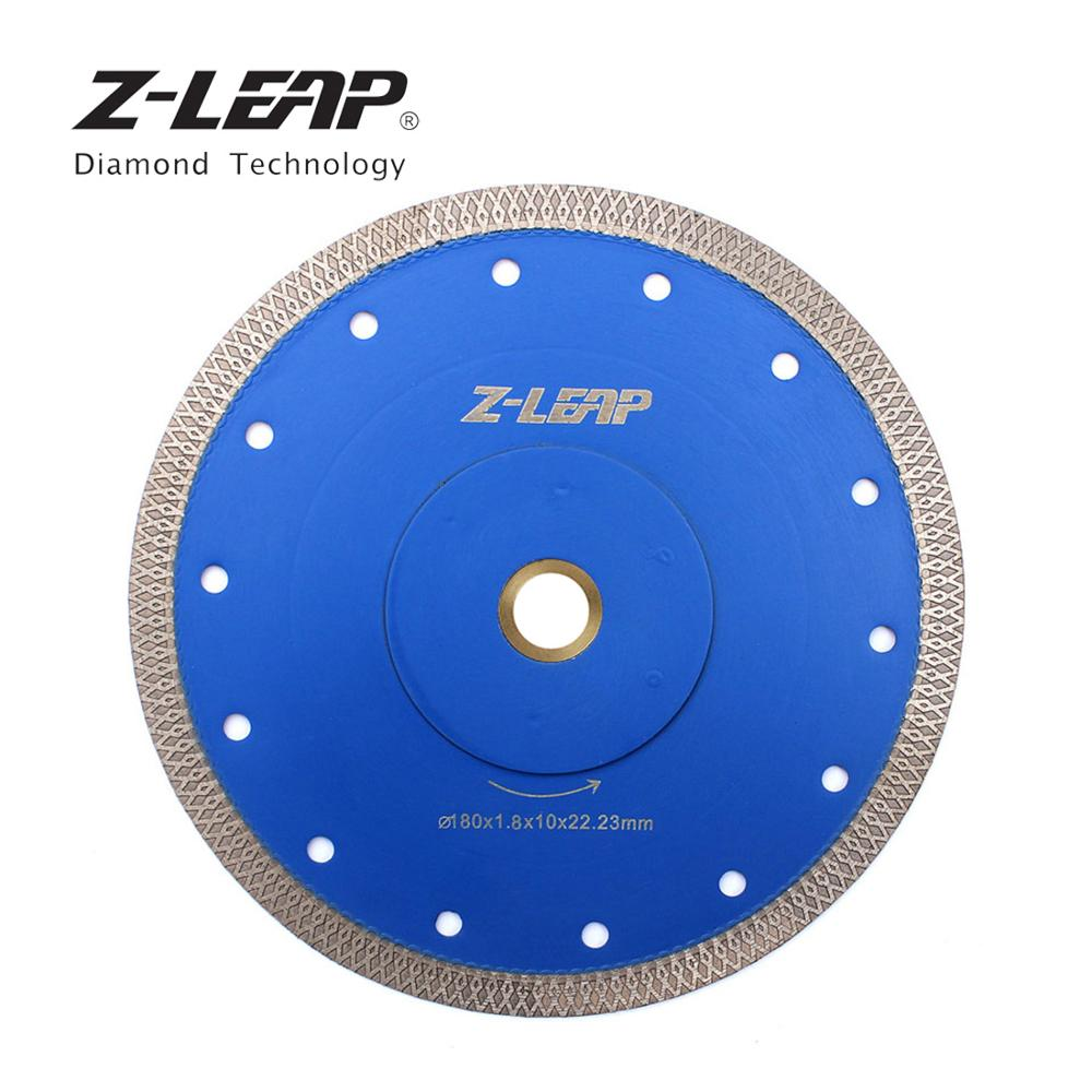 Z-LEAP 180mm Super Thin Diamond Saw Blade 7 Inch 1piece Diamond Ceramic Procelain Tile Marble Cutting Disc Saw Blade