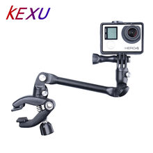 SHOOT Accessories The Jam Adjustable Music Mount Guitar Drum Clips Music Mount for Gopro Hero 5 4 3+ SJCAM SJ4000 Xiaomi Yi 4K(China)