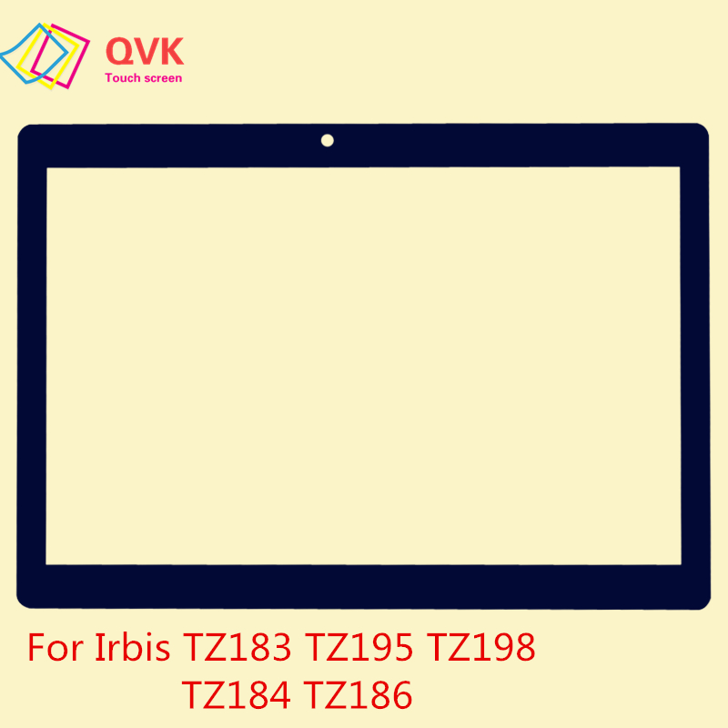 Black 10.1 Inch For Irbis TZ183 TZ150 TZ165 TZ195 TZ198 TZ184 TZ186 TZ192 TZ172 Capacitive Touch Screen Panel