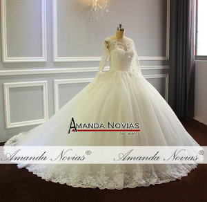 Image 3 - robe de mariee 2019 Puffy Ball Gown Princess Wedding Dress New Model