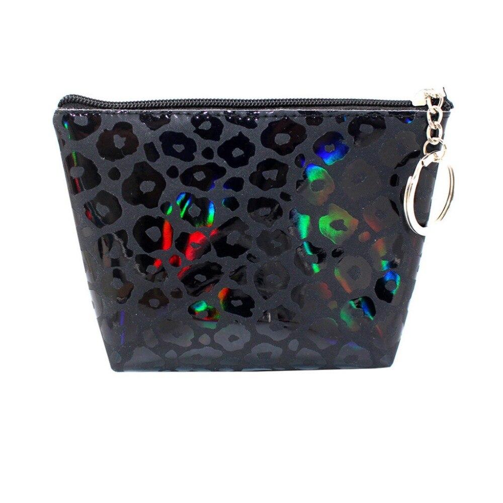 Bolsa Wallet Bag-Change-Pouch Coin Purse Key-Holder Girls Women Print Leopard New-Fashion