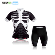 WOSAWE Sports Cycling Jersey Set Bike Bicycle bora cycling 2017 Mtb Ciclismo Clothing Clothes for men Women summer