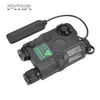 Airsoft Tactical Military Battery Cases Green Dot Laser With White LED Flashlight And IR Illuminator Hunting