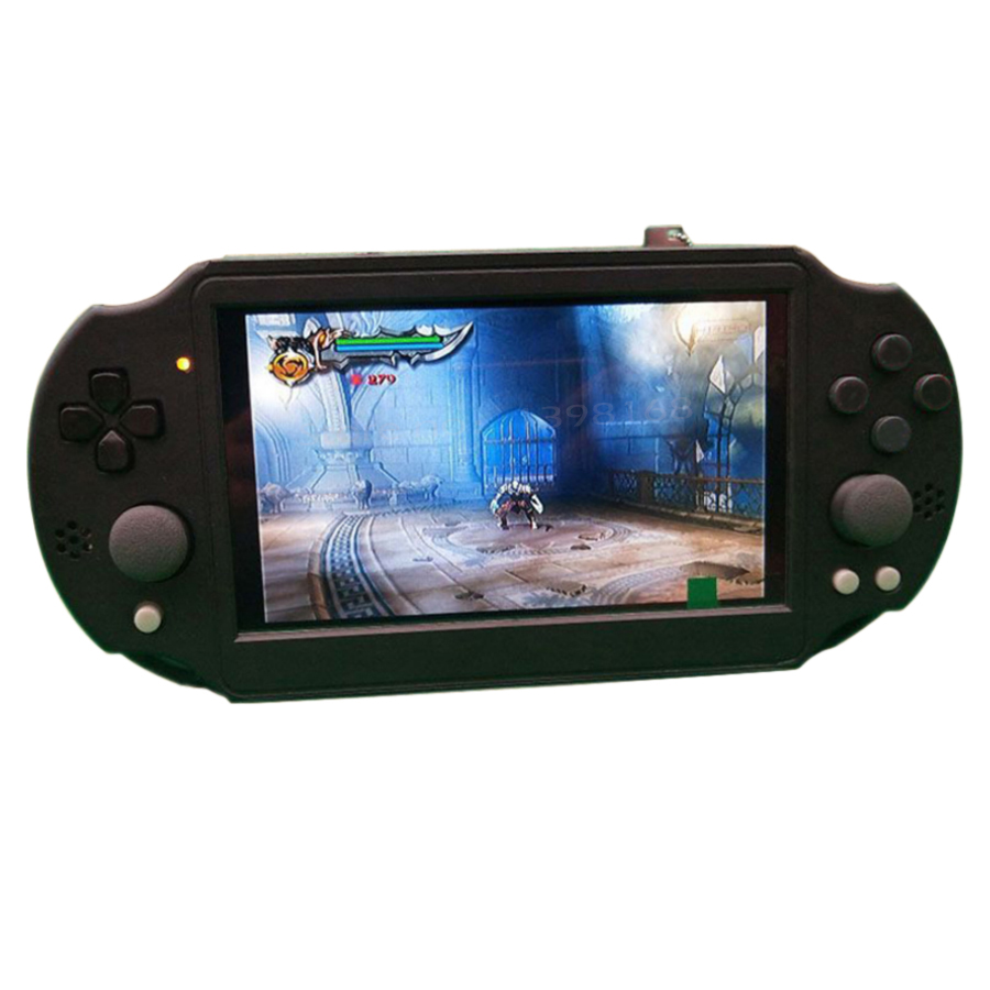 7 Inch IPS Screen Arcade Game Console Modified By P/S2 Motherboard  NO Raspberry Pi  Not Simulator Double Joystick