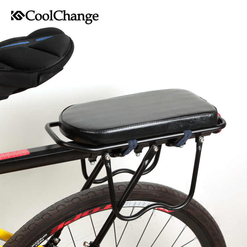 Bicycle Child Seat Cover Water Resistant Leather Comfort Bike Rack Rest Cushion