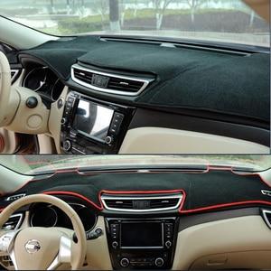 Image 4 - TAIJS Auto Dashboard Abdeckung Für Hyundai Accent Verna 2012 2013 2014 2015 2016 2017 Solaris Dash Matte Pad Teppich Anti Uv anti slip
