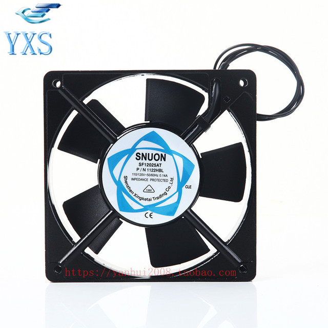 SF12025AT 1122HBL AC 110 120 V 50/60Hz 3000 RPM 0.14A 2 Draht P/N ...