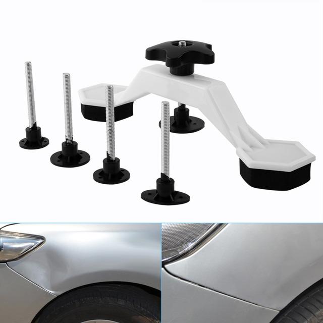 7 in 1 Set Car Body Paintless Dent Repair Tools Puller & Glue Pulling Tabs With Tap Down Pen