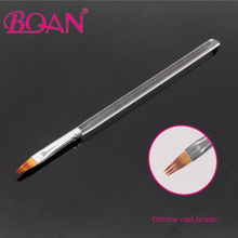 BQAN New Design 6# Professional Nail Art Brush Acrylic Handle Painting Ombre Brush